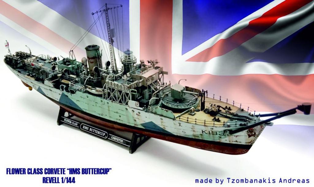 HMS BUTTERCUP - Flower Class Corvete 1/144 Revell