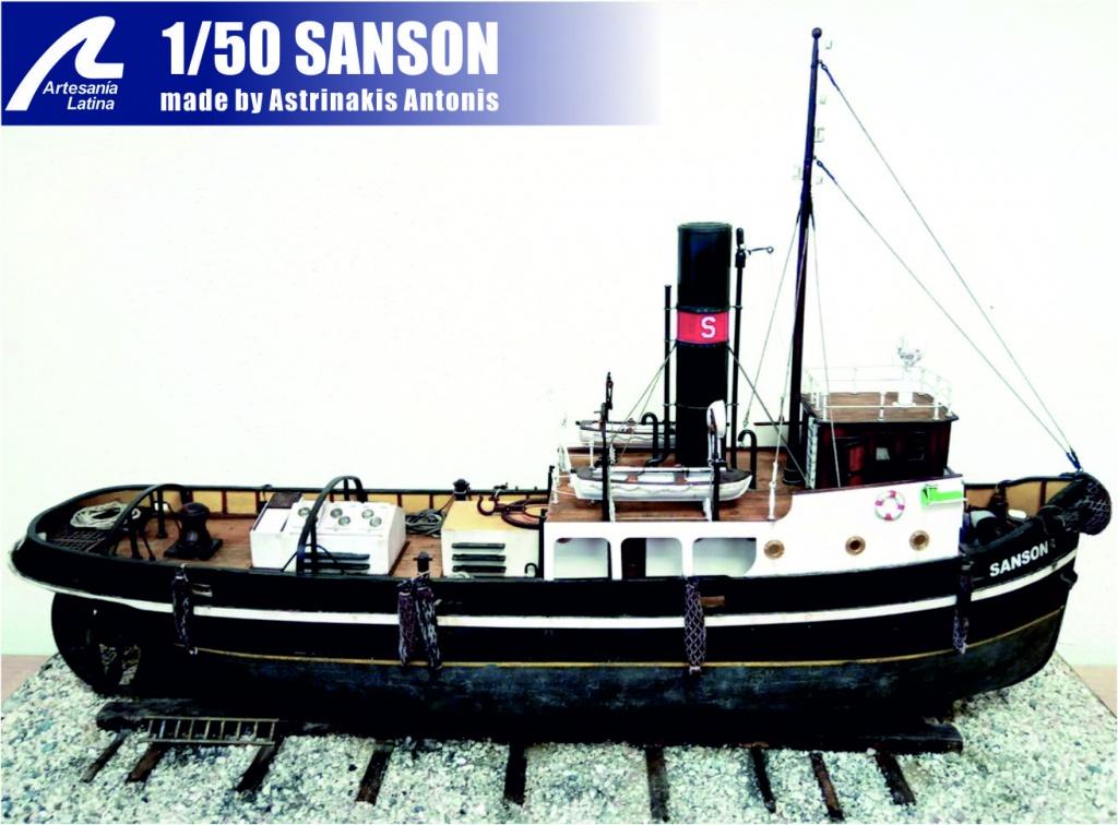 1/50 SANSON (Artesania Latina)