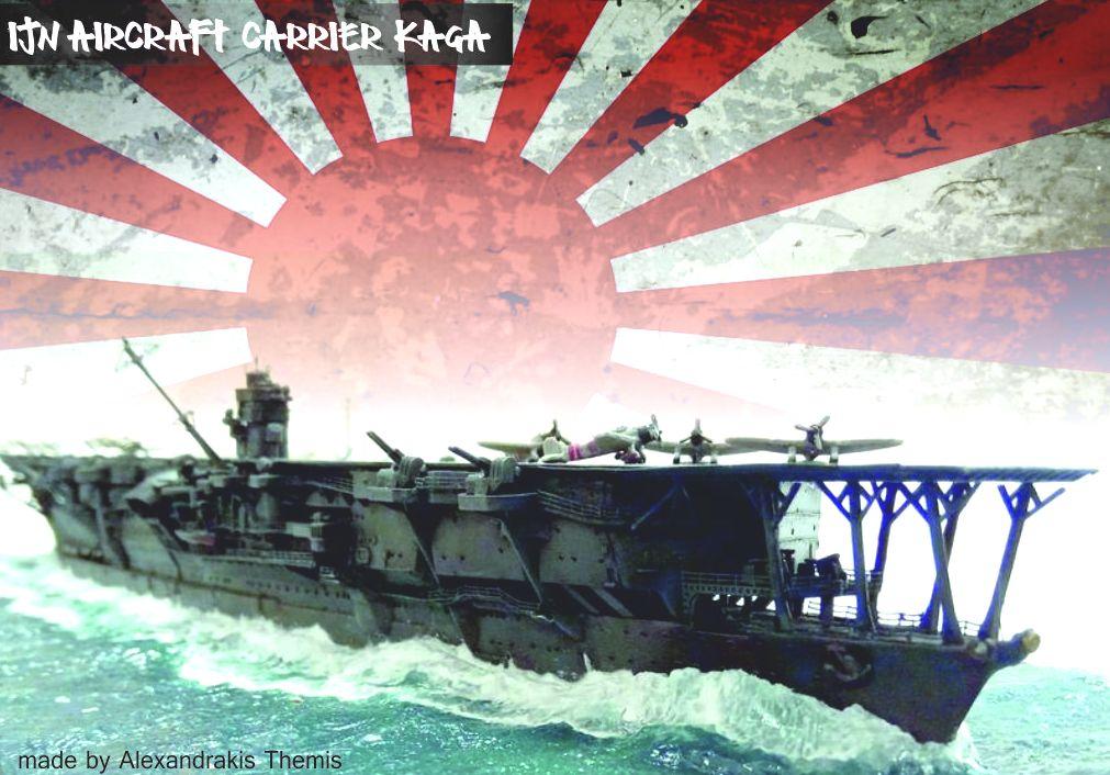 IJN Aircraft carrier KAGA 1941 (Pearl Harbour)