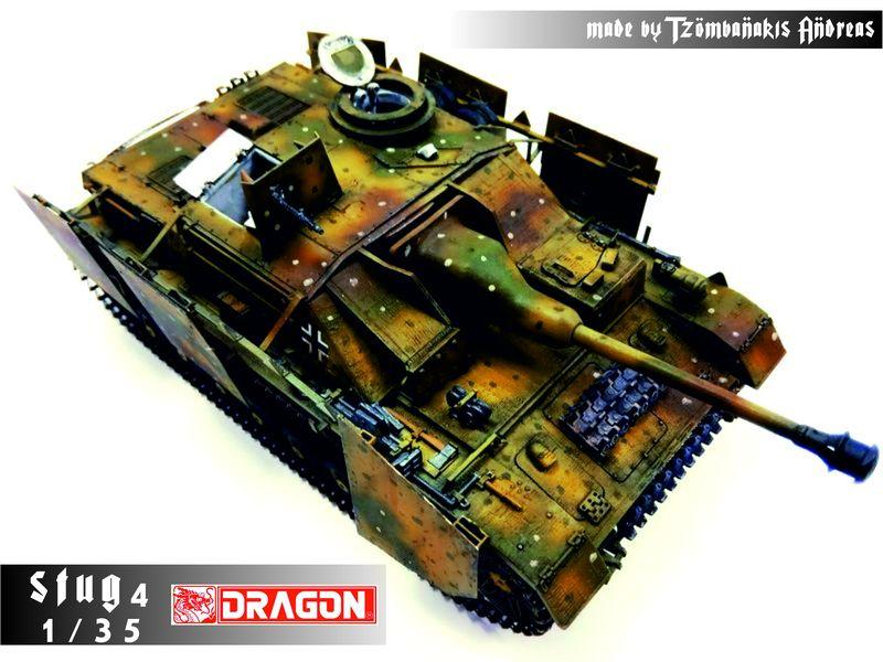 Stug4 (German ww2 tank) 1/35 Dragon