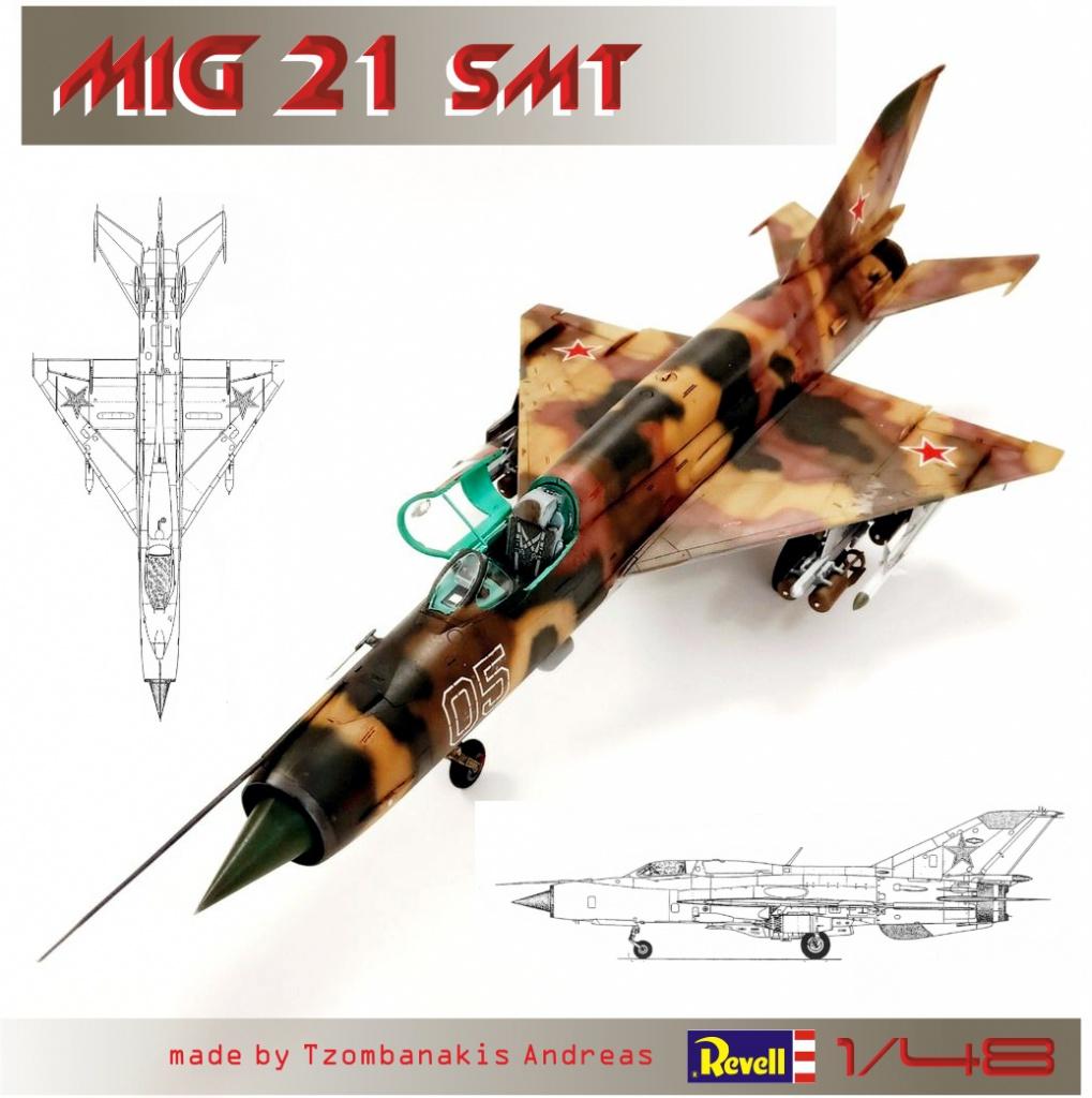 Mig 21 SMT (1/48 Revell).